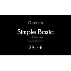 Gutschein - Simple Basic