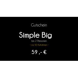 Gutschein - Simple Big