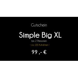 Gutschein - Simple Big XL