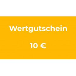 Wertgutschein 10 €