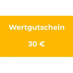 Wertgutschein 30 €