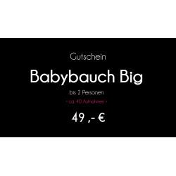 Gutschein - Babybauch Big