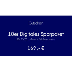 10er Digitales Sparpaket
