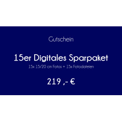 15er Digitales Sparpaket